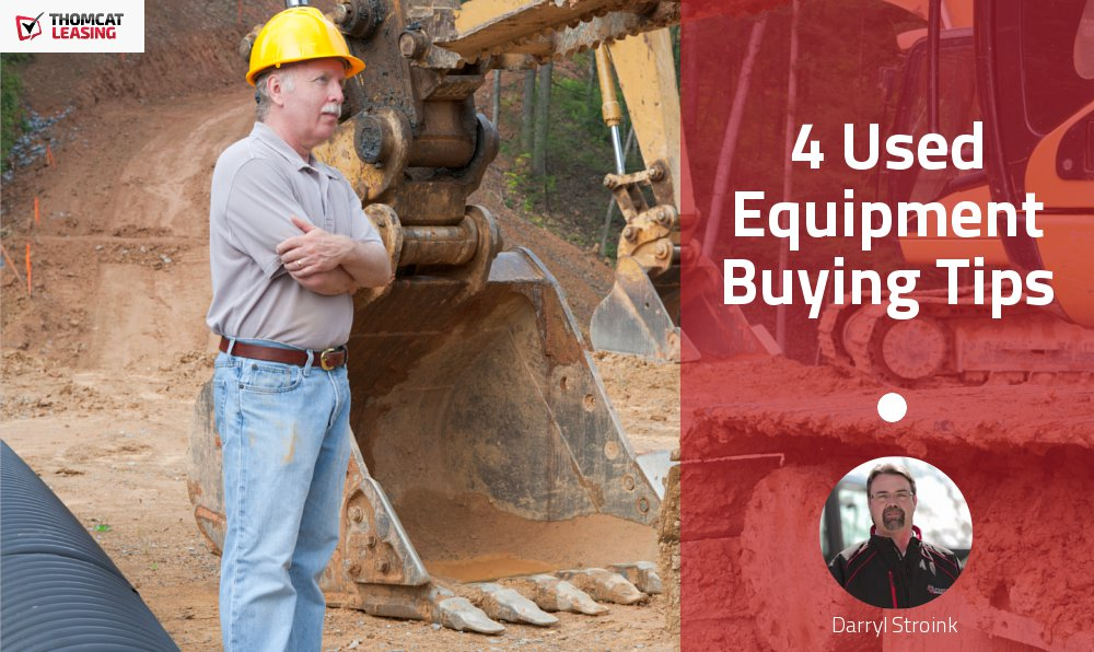4 Used Equipment Buying Tips That Could Save You Thousands