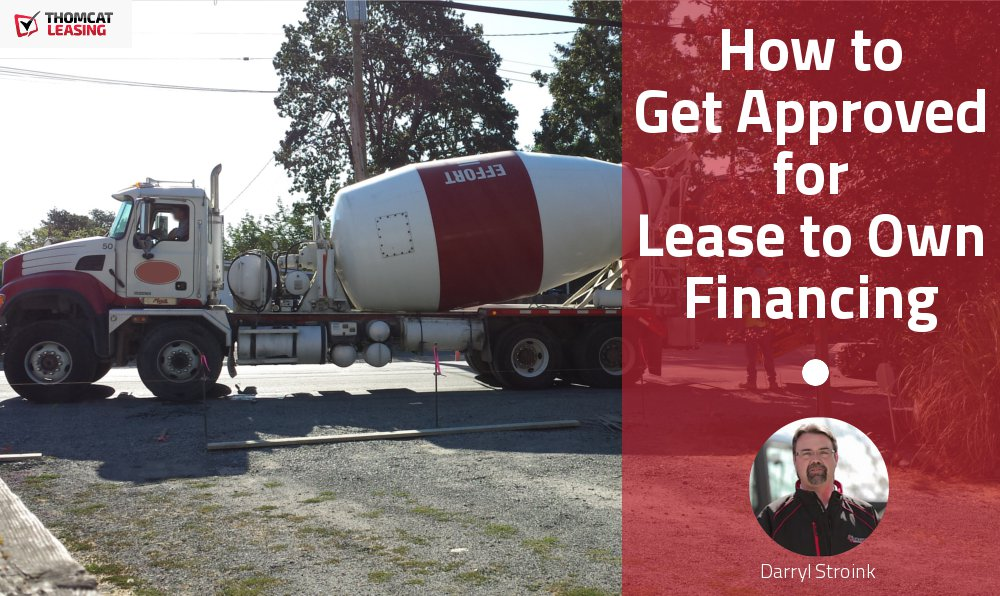 How to Get Approved for Lease to Own Financing
